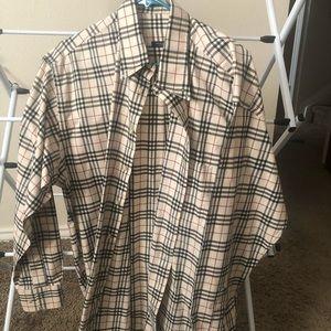 Burberry Plaid Checkered Shirt